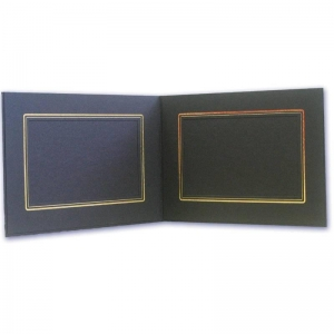 China Folders-Premium CAL DOUBLES FOLDER BLACK/GOLD[CAL DOUBLES BLACK/GOLD] on sale