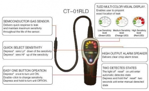 China Copper Tube & Fittings Refrigerant Gas Leak Detector on sale