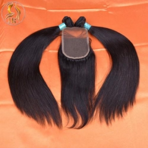 China 8A Brazilian Virgin Hair Product Code: BVS-with-closure on sale