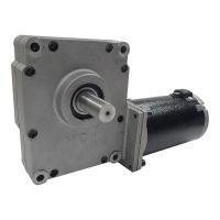 China MCP2 Series worm wheel geared motor on sale
