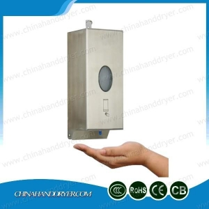 China Stainless Steel Heavy Duty Automatic Sensor Soap Dispenser Wall Mounted Liquid Soap Dispenser on sale