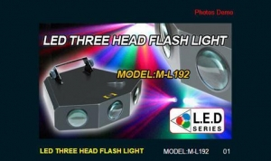 China LED THREE HEAD FLASH LIGHT on sale