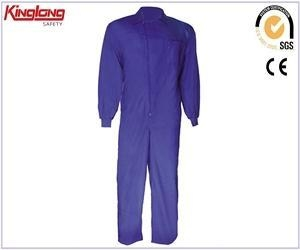 China Polyester / Polycotton Safety Garments, Coverall Uniforms with Chest Pocket on sale