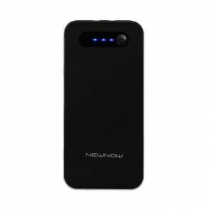 China NewNow S13 13000mAh External Battery Charger Power Bank - Black on sale