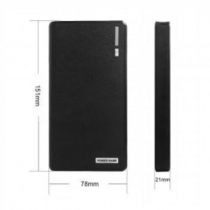 China NewNow 13200mAh External Backup Battery Charger - Black on sale