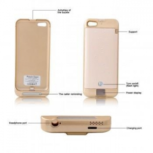 China For iPhone Battery Case 2200mAh BackUp Battery Power Bank Charger Case for Iphone 5 5s 5C on sale