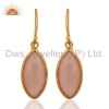 China Sterling Silver Chalcedony Earrings for sale