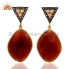 China Red Onyx Fashion Earrings for sale