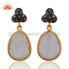China Crystal Quartz Earrings for sale