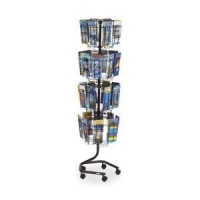 China Safco Rotary Wire Brochure Display Stand on sale