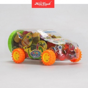 China Hot Sale Pudding Mini Candy Fruit Cup Jelly/Sweet Toy Auto Car Pudding on sale
