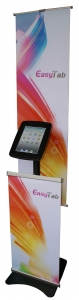 China iPad Kiosk ET-AS (with banner) on sale