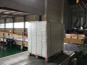 China High Quality Clay Coated Duplex Paper Board Ream Packed on Pallet for Packaging on sale