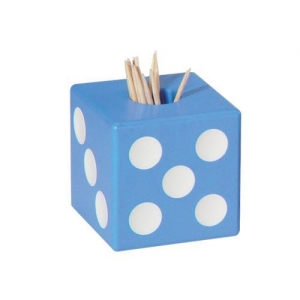 China D407 dice toothpick holder on sale