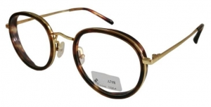 China Contact Now Retro Vintage Circle Metal Optical Eyeglass Frame And Acetate Glass on sale