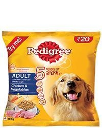 China PEDIGREE ADULT CHICKEN & VEGETABLES 400 g on sale