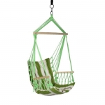 Fabric Hanging Hammock Chair with Armrests by Blue Sky Hammocks
