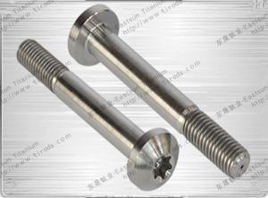 China Titanium Pan Head Torx Screw on sale