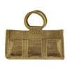 China Wholesale Reusable ECO Jute Bag Customized Jute Shopping Bag for sale