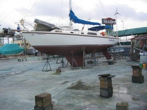 China Power Boats 1969 Columbia 36 Sloop on sale