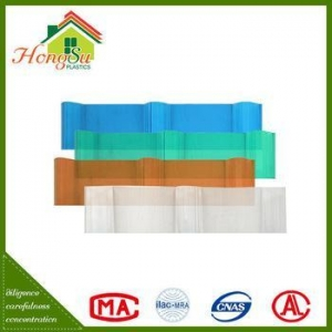 China Hot selling non-conductive anti-corrosion roofing sheet on sale