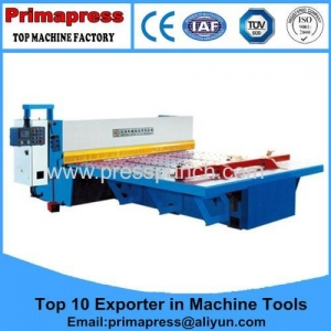 China 10 Feet Hydraulic CNC Guillotine Shearing Machine Manufacturers Admin Edit on sale