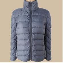 China PF-103 OEM ultra thin foldable down jacket for women on sale