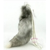 China GJ-6 Special Fox Tail Fur Key Chain for sale