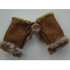 China GL-1 Winter Warm Knitted Half Gloves For Ladies for sale