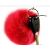 China GJ-19 Fox Fur Ball For Lady Bag Accessories for sale