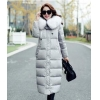 China PFF-9 Ourtdoor Thin Lace Padded Jacket With Fur Collar for sale