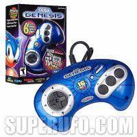 China Sega Genesis 6 Games in One Multi Game Unit on sale
