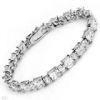 China Sterling Silver Bracelet With Cubic Zirconia (LBRG1038) on sale