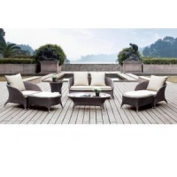 Patio Furniture Outdoor Patio Furniture Wicker Sofa Sectional