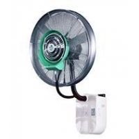 China Wall mounted misting fan with rainproof and remote control type600 on sale