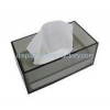 China Custom white acrylic box modern tissue box cool tissue box NAB-037 for sale