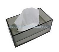 China Custom acrylic donation bins donation containers charity collection boxes NAB-003 on sale
