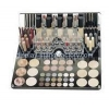 China Acrylic manufacturers customize clear acrylic make up organiser NMD-201 for sale