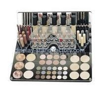 Acrylic display stand manufacturers customize acrylic makeup drawer organizer NMD-175