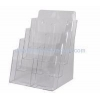 China Custom acrylic flyer holder wall mount brochures holders literature rack wall mount NBD-006 for sale