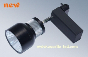 China LED TrackLight 25W Blacl on sale