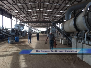 China Chicken Manure Fertilizer Production Line on sale