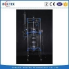 China Laboratory Chemical 100L Double Glass Reactor for sale