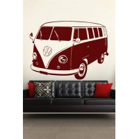 Wall Decals VW Bus-Wall Decals