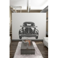 Wall Decals VW Bug Front-Wall Decals