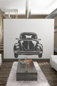 China Wall Decals VW Bug Front-Wall Decals on sale