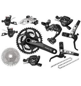 China OFFER! Shimano Deore XT 10 SPD Groupset on sale
