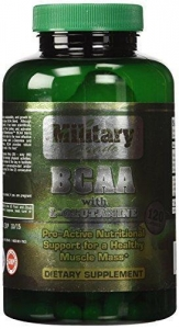 China BCAA enhanced with L-Glutamine (120 capsules) | Military Tested | Best BCAA Amino Acids on sale