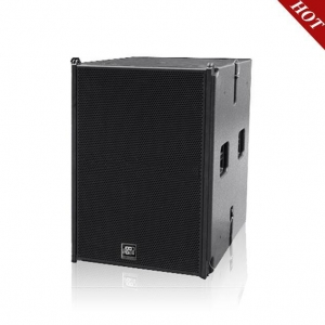 China 18 inch 1000W high power Self-powered outdoor Active professional loudspeaker Subwoofer bass on sale