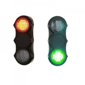 China 200mm Red Static Pedestrian with Clear Lens LED Traffic Signal Light Bulb on sale